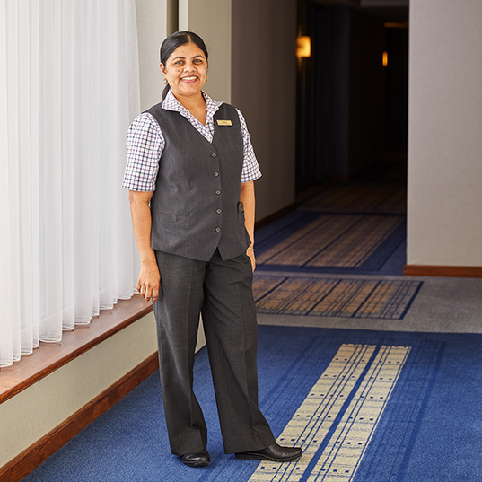 Concierge at the Charles Hotel